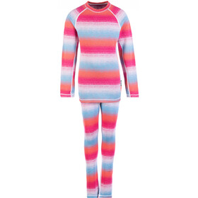 Reima Taival Thermal Baselayer Set Barn Candy Pink